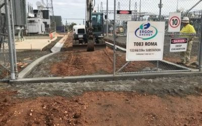 Roma Substation Ergon Energy