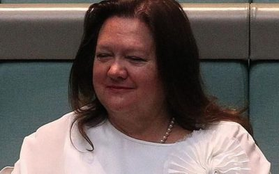 Gina Rinehart hits out at welfare recipients and politicans she accuses of dragging Australia into debt